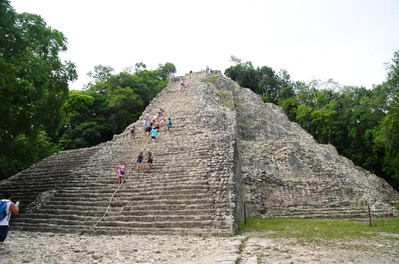 Pyramide de Cobá - Mexique