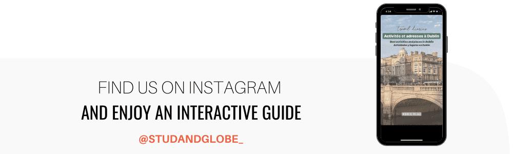 Ultimate Dublin Guide on Instagram Stud&Globe