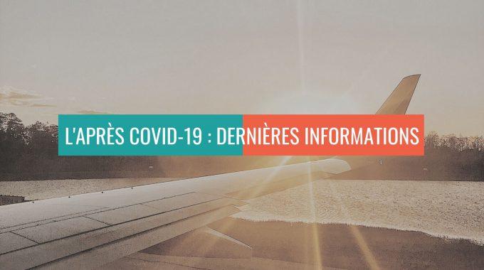 L'APRÈSCOVID-19 : Dernières Informations
