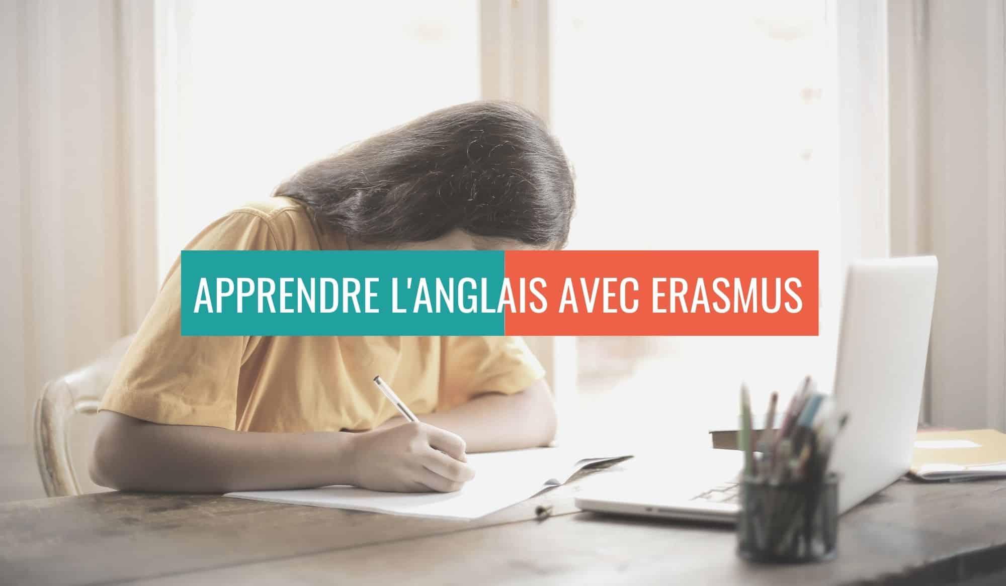 apprendre anglais avec erasmus